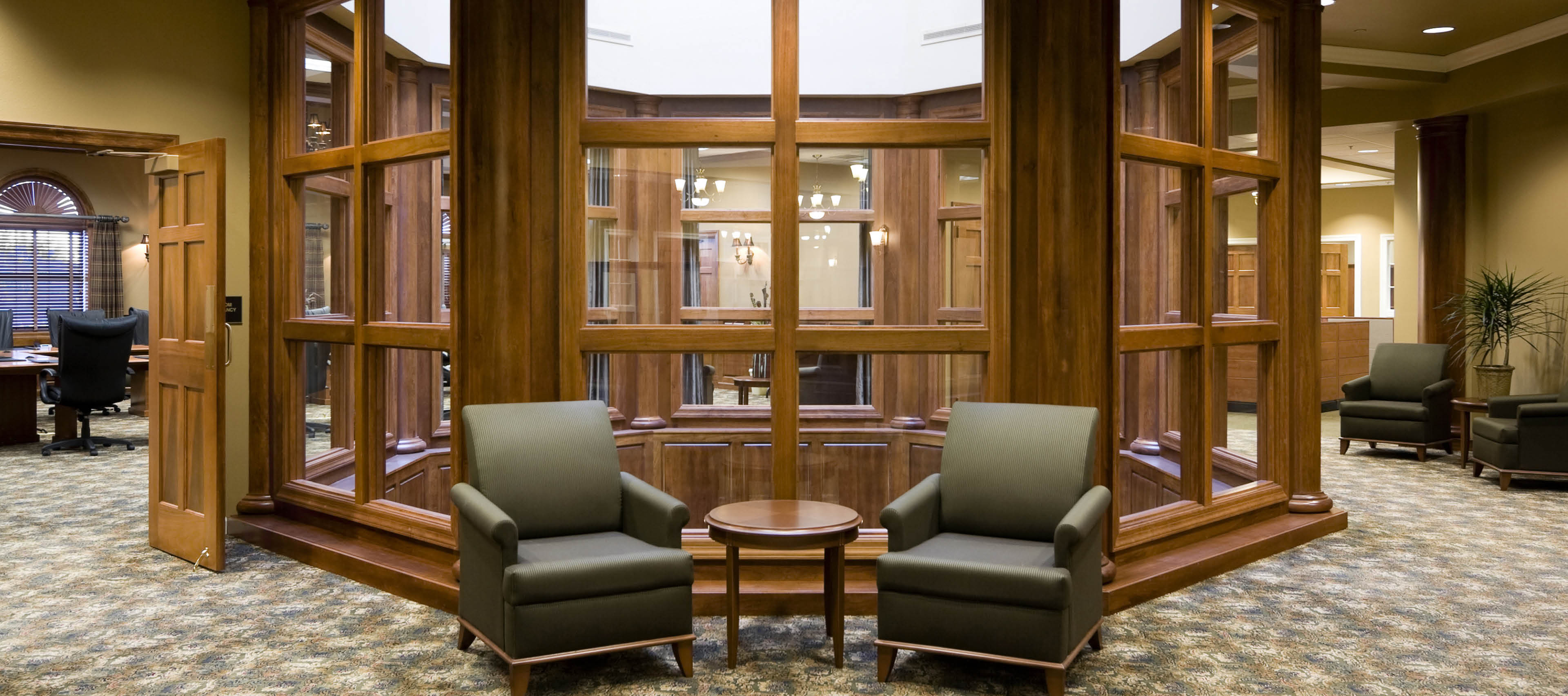 First Bank lobby