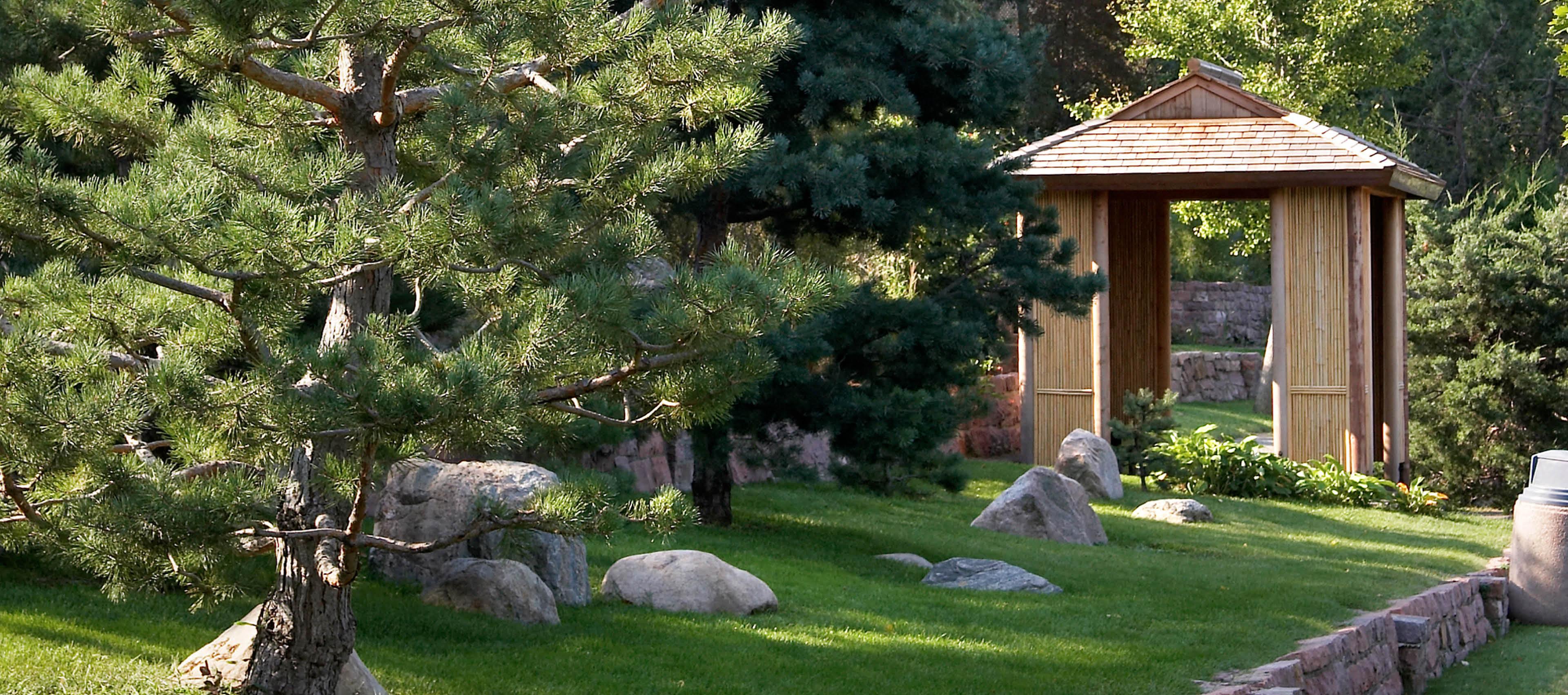 Gardens side view