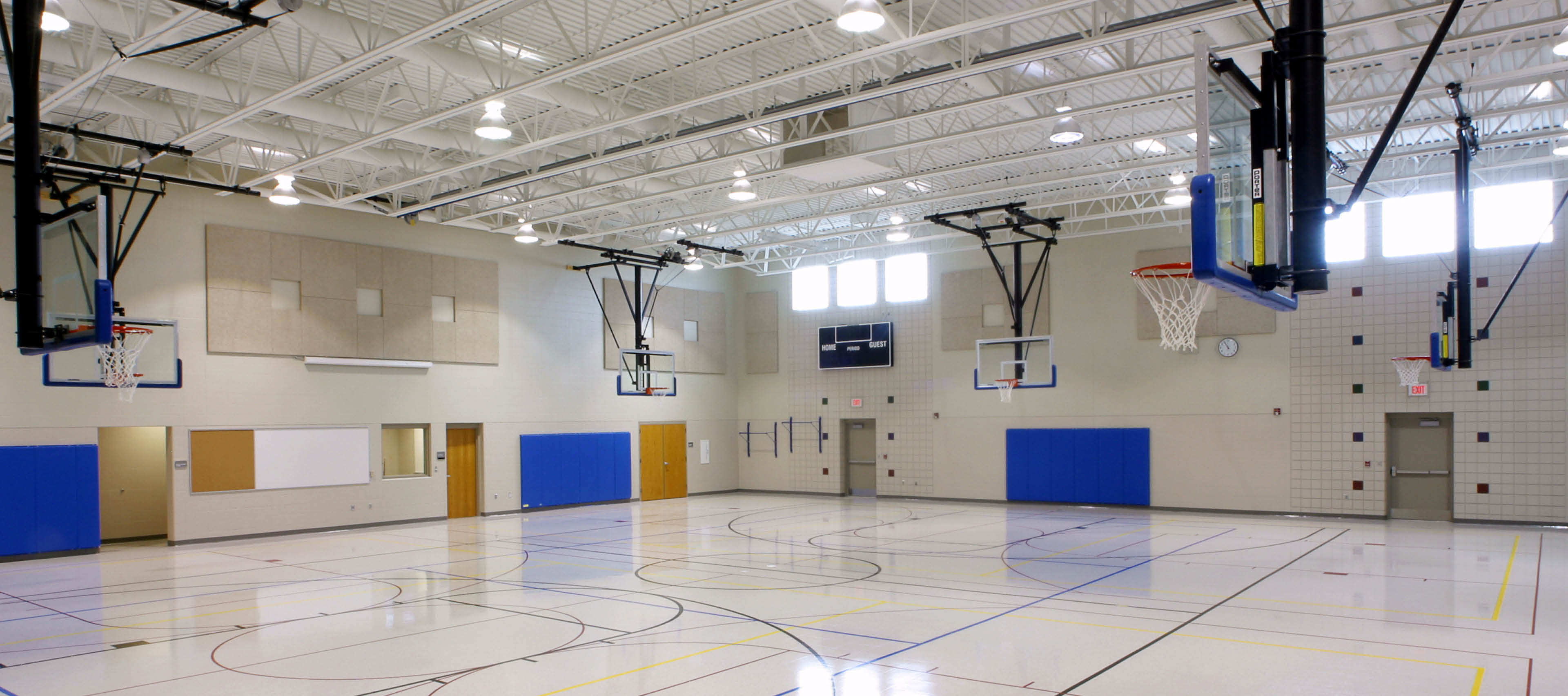 Basktel ball court