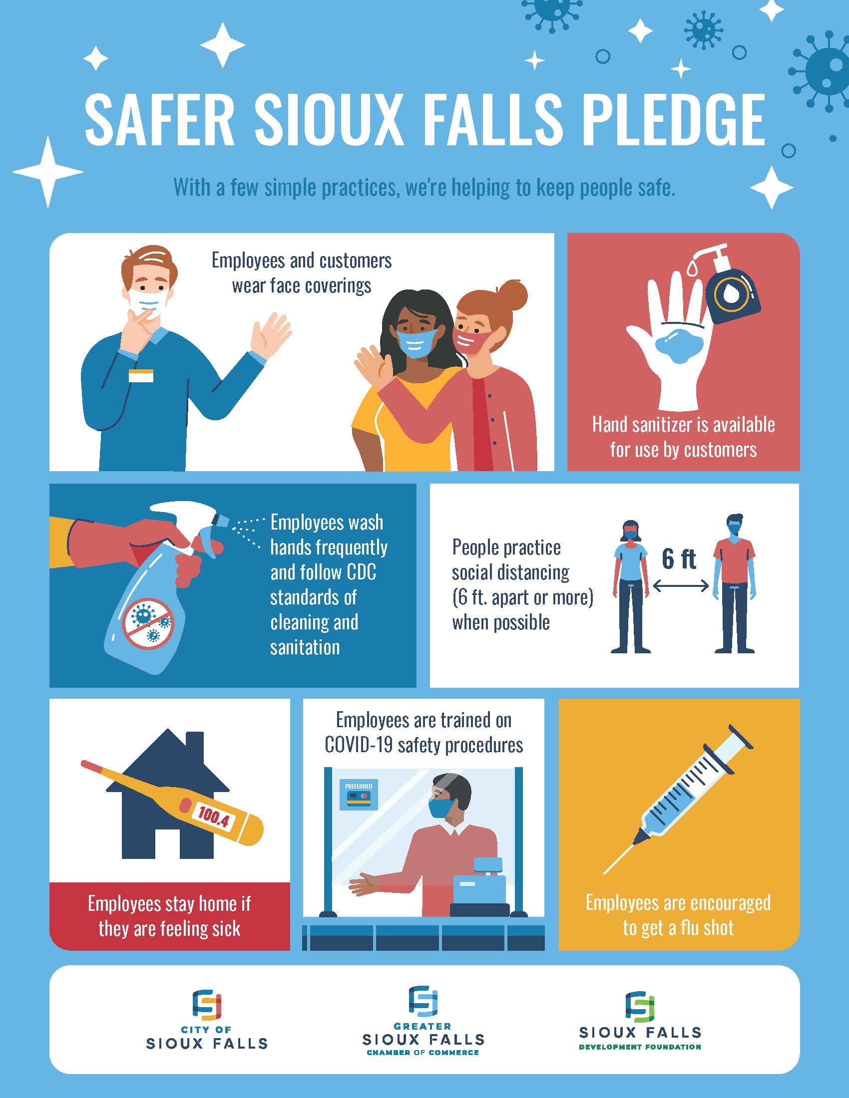 Safer Sioux Falls Pledge